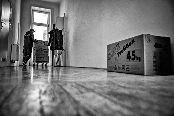 Firmenübersiedlung Möbel