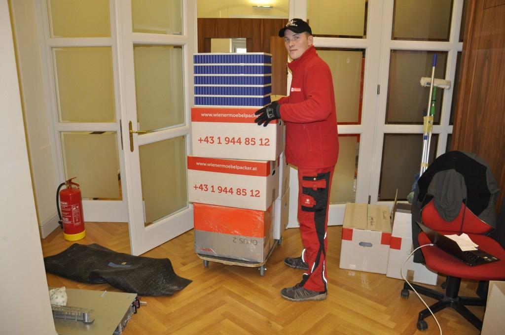 Umzug Wien - Verpackungsmaterial3
