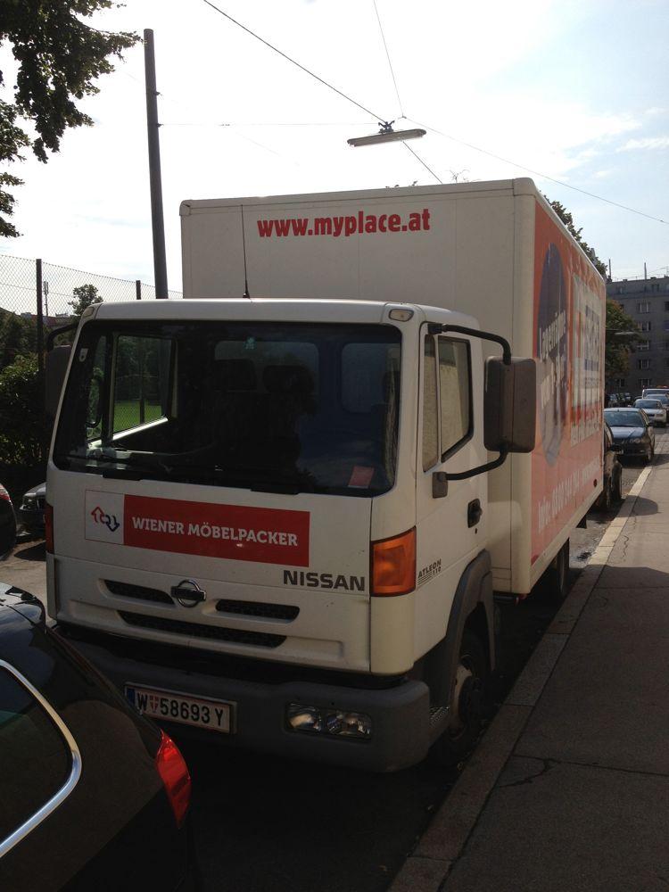 Übersiedlung Wien - Partnerfirma1