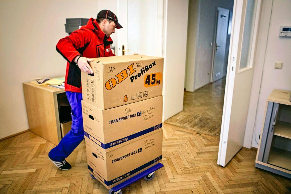 Übersiedlung Wien - Büroumzug 1