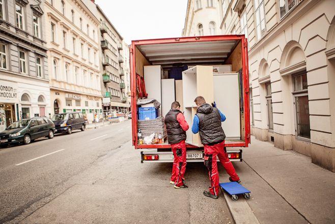 Übersiedlung Wien - Einlagerung
